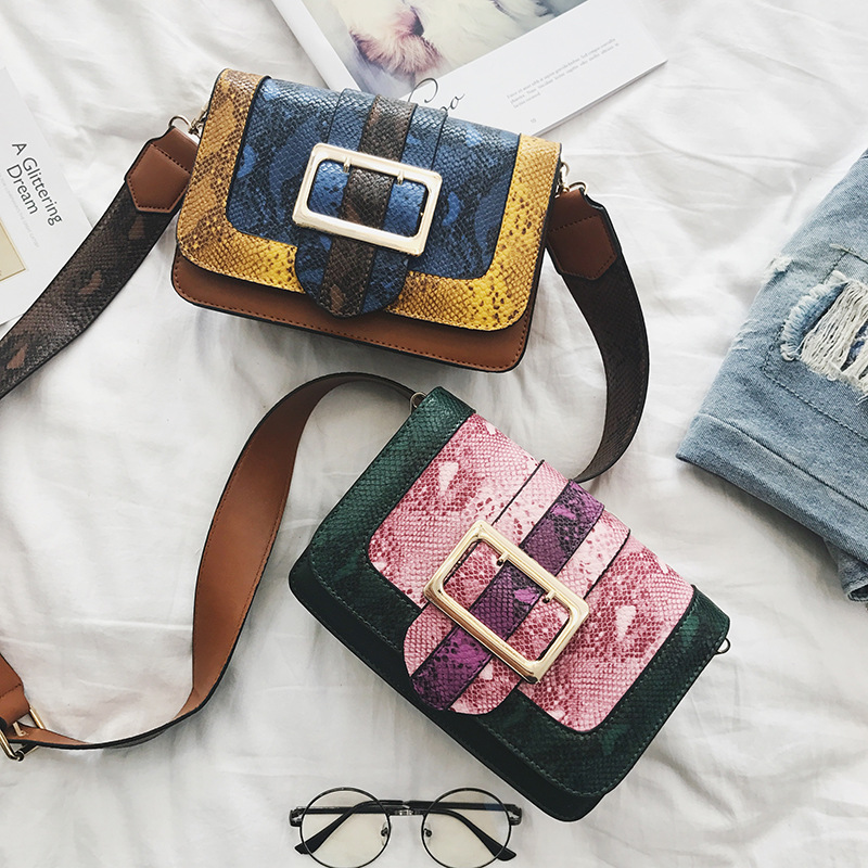 2018 Top Direct Selling Pu Day Clutches Floral Open Soft Bag Wide Shoulder Strap Accessories Mix Lengthening Messenger Home
