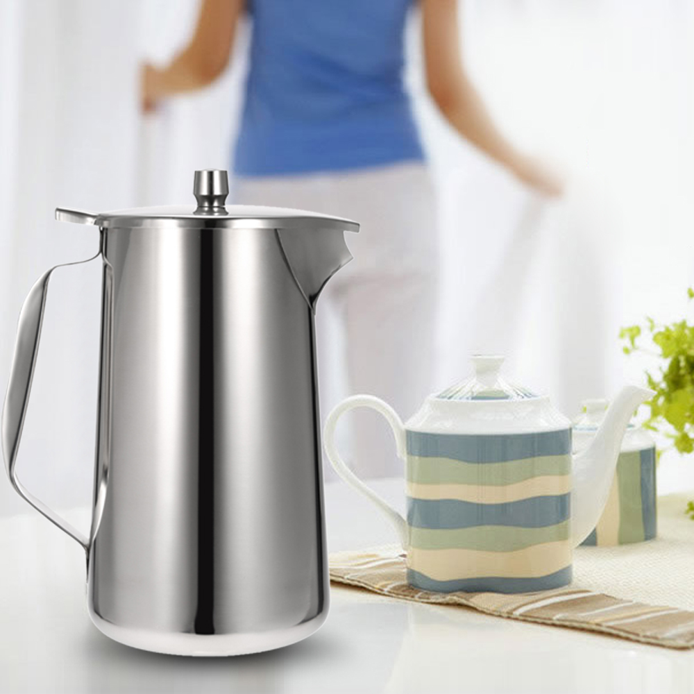 aliexpresscom  buy stainless steel cold water pot high quality  - aliexpresscom  buy stainless steel cold water pot high qualitykitchenware ice tea jug kettle water pitcher  lid and spout kitchenaccessories from