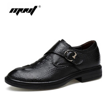 Natural Cow leather Men Shoes Plus Size Handmade Business Dress Men Oxford Shoes Wedding And Party Men Flats Shoes Dropshipping