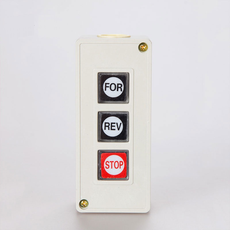 Power Push Button For Barrier Gates And Gate Openers
