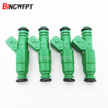 "4PCS/LOT 0 280 155 968 fuel injector 440cc ""Green Giant "" For Volov 0280155968 TK-FI440C968-4(China)"