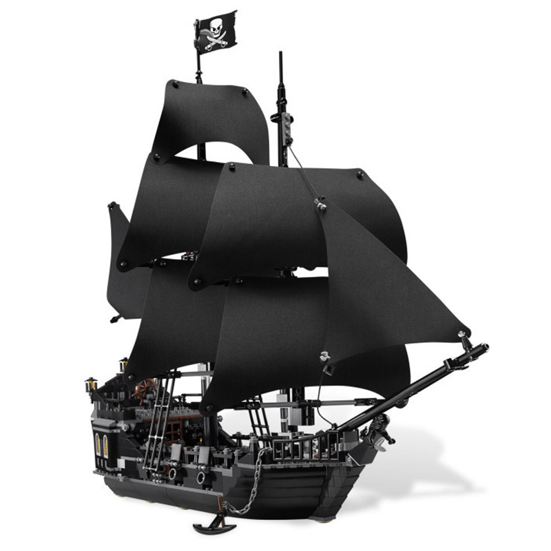 804pcs Toy 16006 Pirates of the Caribbean The Black Pearl Building Blocks Set 4184 Lovely Educational Toys For Children waz compatible legoe pirates of the caribbean 4184 lepin 16006 804pcs the black pearl building blocks bricks toys for children