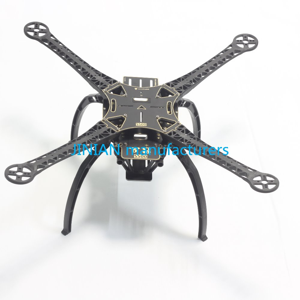 PCB Version S500 SK500 Four Axis Qudcopter Frame W/ High Landing Gear S500 PCB Board For F550 Upgrade  FPV Qudcopter Frame