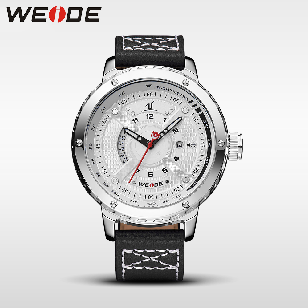 WEIDE men watch luxury watch electronics analog quartz men sports leather watches waterproof Schocker clock automatic self-wind weide new men quartz casual watch army military sports watch waterproof back light men watches alarm clock multiple time zone