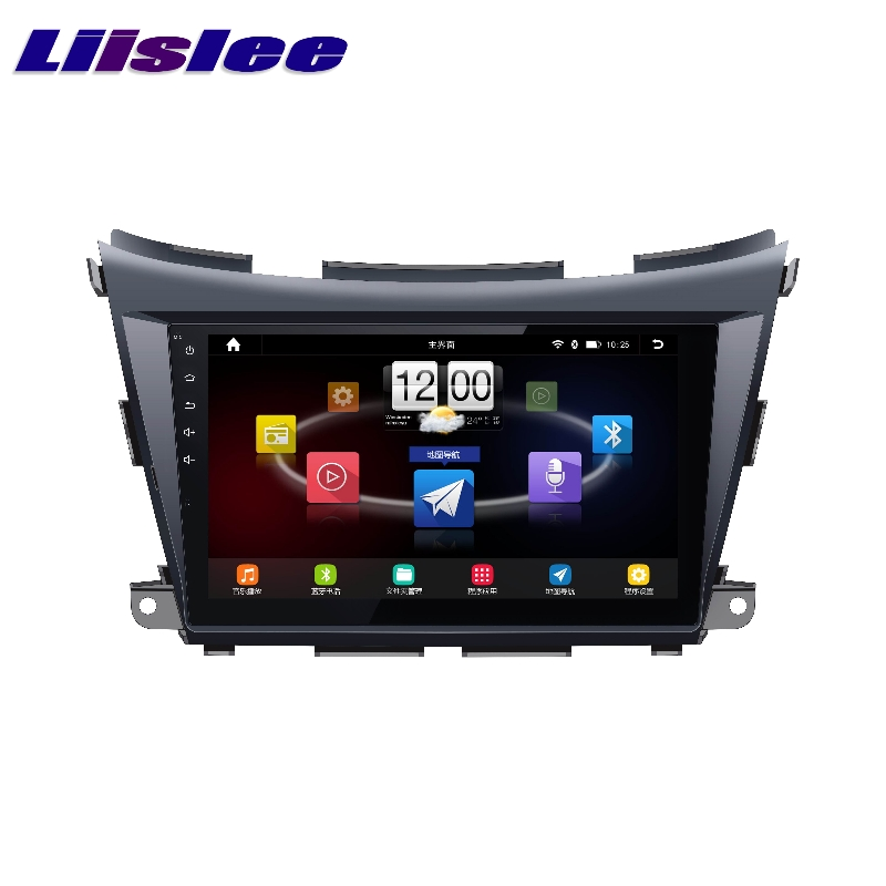 Pour Nissan Murano Z52 2015 ~ 2017 LiisLee Voiture Multimédia TV DVD GPS Audio Salut-fi Radio Stéréo Original Style De Navigation NAVI