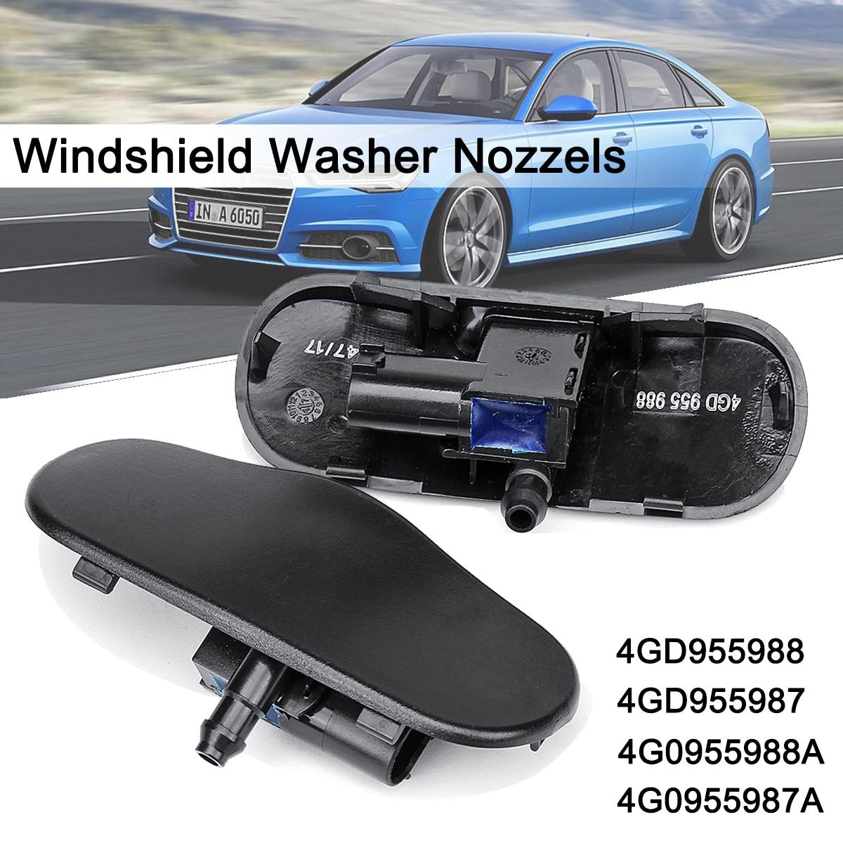 2pcs Car Windshield Windscreen Washer Spray Nozzles Jet