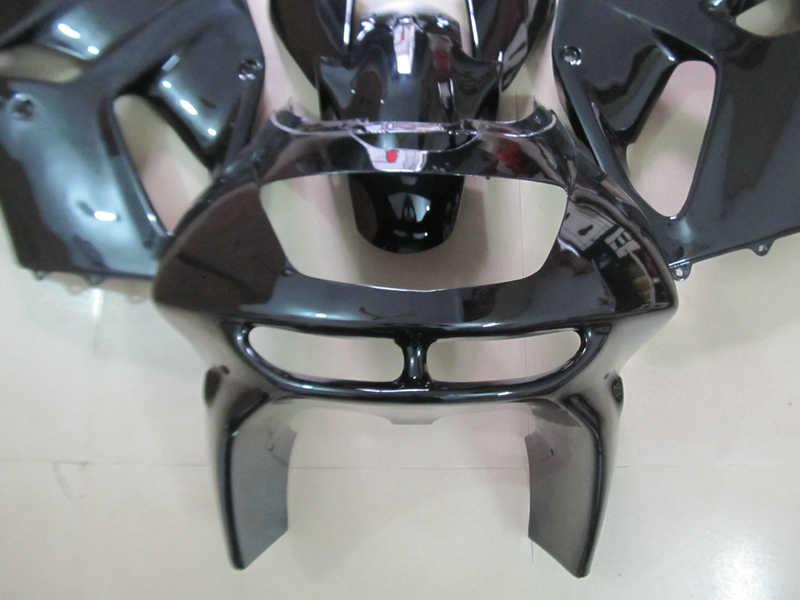 ABS פלסטיק fairing ערכה עבור Kawasaki ZX6R 94 95 96 97 מבריק שחור אופנועים מעטפת סט ninja zx6r 1994- 1997 OT10