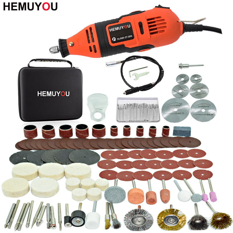 Dremel Electric Drill  Grinder Engraving Pen Grinder Mini Drill Electric Rotary Tool Grinding Machine Dremel Accessories
