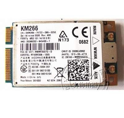 SSEA Wholesale NEW for Ericsson C687R Unlocked 3G WWAN Card For Dell 5530  F3507G E4200 E5400 3G HSDPA GPS Mini PCI-E Card