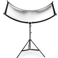 160*55cm 3 In 1 U typed Light Reflector Diffuser Set with Tripod Eyelighter for Photography Video Studio Shot