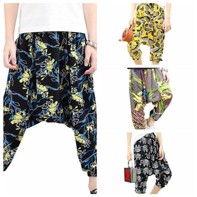 0dfefd99bb Playtoday Baby Clothes Treasure Summer Printed Boys Girls Harem Pants Beach  Vacation Loose Baby Boy Clothes Harem Pants
