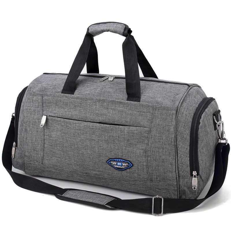 2019 Fashion hand travel bag Men waterproof sports bags Large capacity luggage  duffle bag multifunctional shoulder c5431e05dfa8e