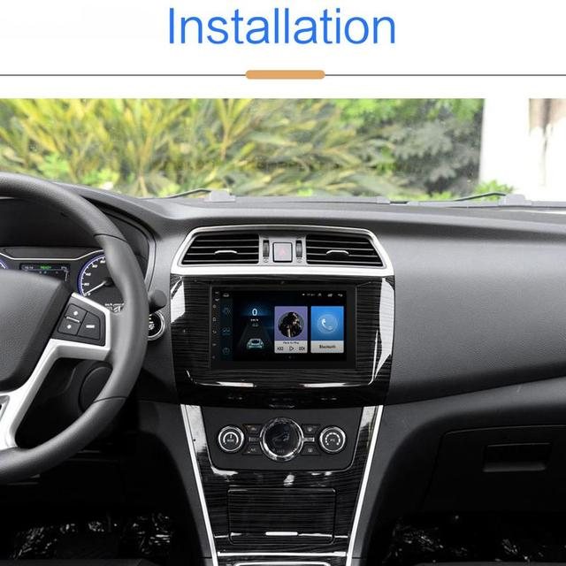 Android 8.1 System Memory Touch Screen Button 2 DIN 7 Inch HD Car Bluetooth MP5 Player Car Dual Ingot Universal GPS Navigation