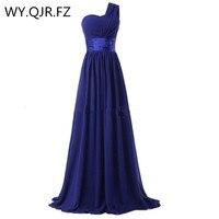 LLY6818G New Spring Summer 2017 Gray Long Bride Wedding Party Toast Dress Bridesmaid Dresses Cheap Wholesale