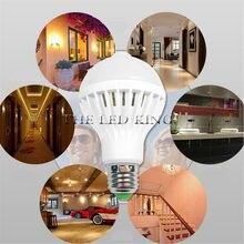 1 10x Led Pir Sensor Bulb E27 12w 18w Ac 220v 110v Dusk To Dawn Light Day Night Motion Lamp For Home Lighting