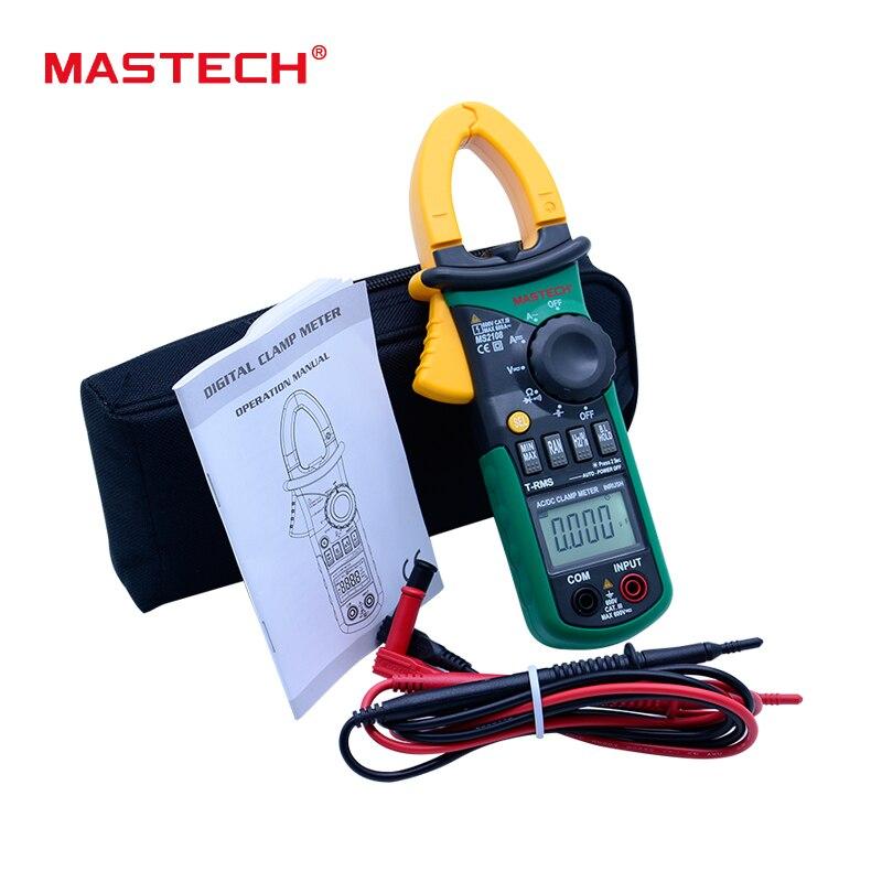 MASTECH MS2108 TRMS AC DC digital clamp meter current tester 600A карбюратор ваз 2108 купить харьков