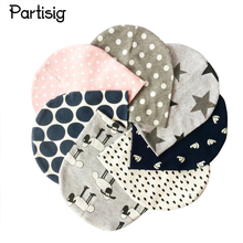Baby Hat Cotton Printing Caps For Baby Boy Girl Infant Beanie Hat Spring Autumn Winter Children's Hats Caps Star Heart Dot