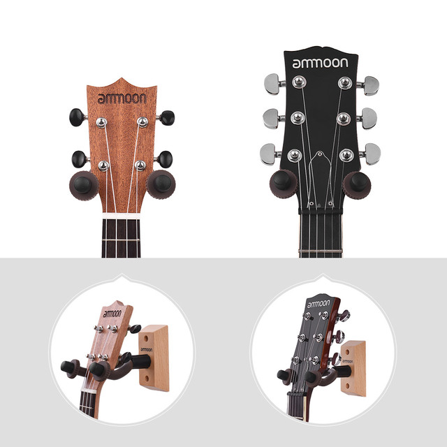 Wooden Wall Mounted Guitar Hanger