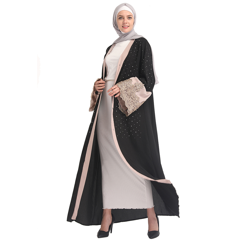 Abaya Dubai Turkey Hijab Muslim Dress Kaftan Islamic Clothing Abayas Women Jilbab Eid Caftan Marocain Robe Ramadan Elbise Giyim