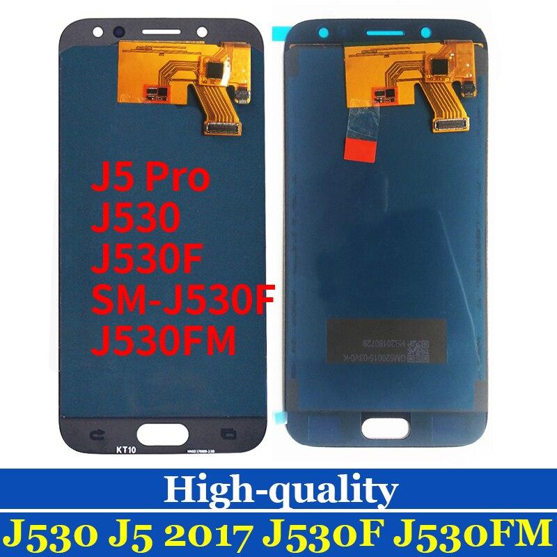 10 pièces J530F lcd pour SAMSUNG GALAXY J5 2017 LCD J530FN SM-J530F J530 LCD écran tactile numériseur assemblée remplacement TFT