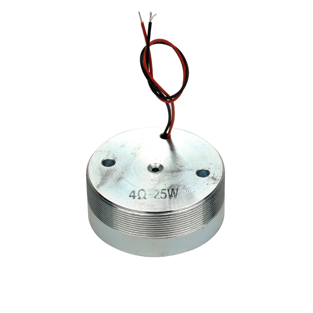 1Pc Aiyima 2Inch Resonance Speaker Vibration Strong Bass Louderspeaker All Frequency Horn Speakers 50mm 4 Ohm 25 W 2