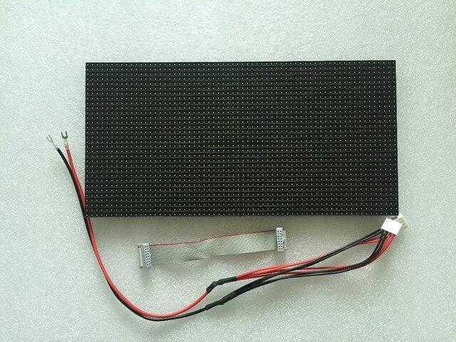 Panneau daffichage mené polychrome dintérieur de P5, pixel de 64*32, taille de 320mm * 160mm, balayage de 1/16, panneau de smd 3 dans 1,5mm rvb, module mené par p5