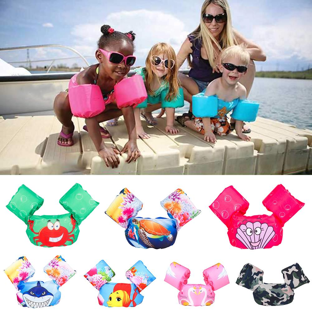 Children's Swimming Bag Swimming Double Airbag Anti-smashing Vest Swimming Learn Helper For 2-7 Years Old Kids Boy Girl