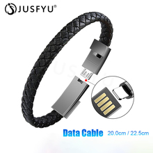 Portable Mini Leather Micro USB Bracelet Charger Data Fast Charging Cable Sync Cord For iPhone Android Type-C Phone Charge Wire цены