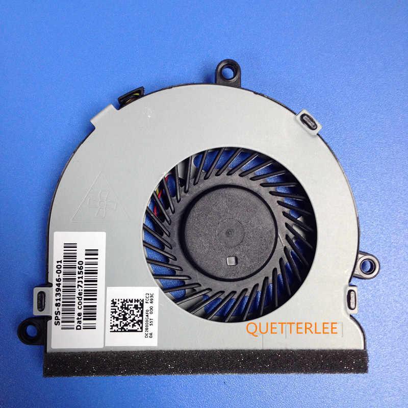 BARU ASLI 1 CPU FAN UNTUK HP 15-AC121TX 15-A 15-AC121DX 15-A Seri 15-AC 15-AF15-AC 15-AC143WM 15-ac180na 15-ac181na CPU FAN