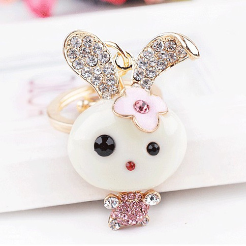 Aliexpress.com : Buy Fashion Trinket Cute Rabbit Key ...