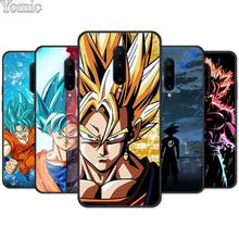 dragon ball Ultra Instinct Vegeta Black Soft Case for Oneplus 7 7 Pro 6 6T 5T Silicone Phone Case for Oneplus 7 7Pro TPU Cover
