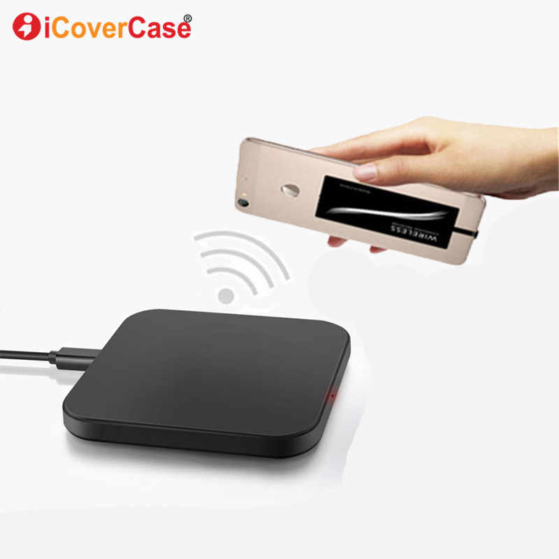 Qi Wireless Charger Pad for Huawei Y9 2019 Case Mobile Accessories Power Bank Wireless Charging Receiver For Huawei Y6 Y9 2018