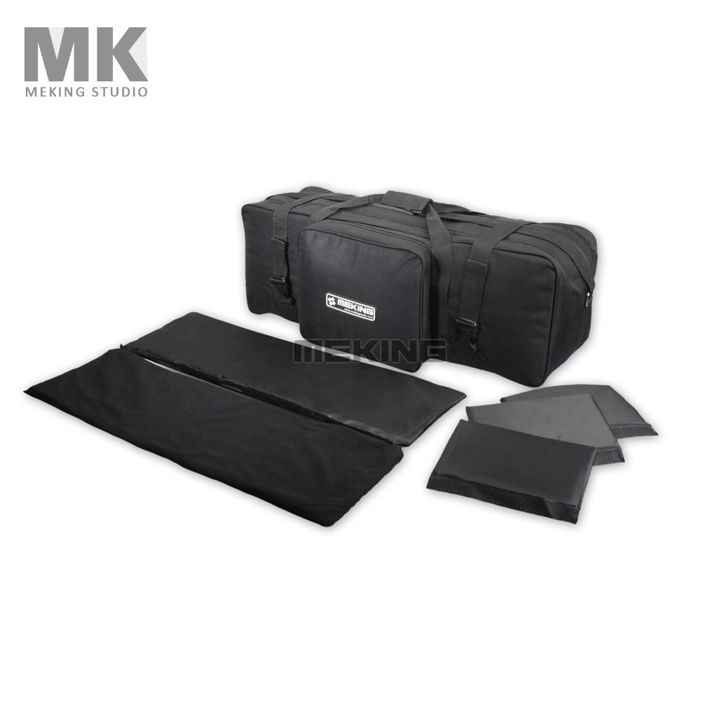 Studio Lighting Set Equipment Padd Zipper Carry Case Bag 75*25*29cm / 29.5*9.8*11.4 for Light Stand Umbrellas tripod термоэлектрический контейнер охлаждения ezetil e21 12v цвет красный серый 19 6 л