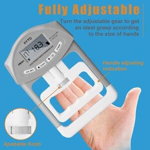 Image 4 - KYTO dijital el dinamometresi kavrama gücü ölçüm cihazı otomatik yakalama el Grip güç 200 Lbs/90 kg