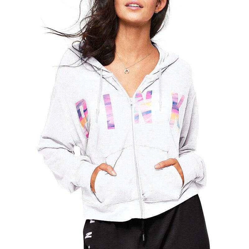 VS Love Pink Hoodies Women Tumblr Ariana Grande Kyliejenner Unicorn BTS Bt21 Kpop Monsta X Sweatshirt Tracksuit Cloth Oversized