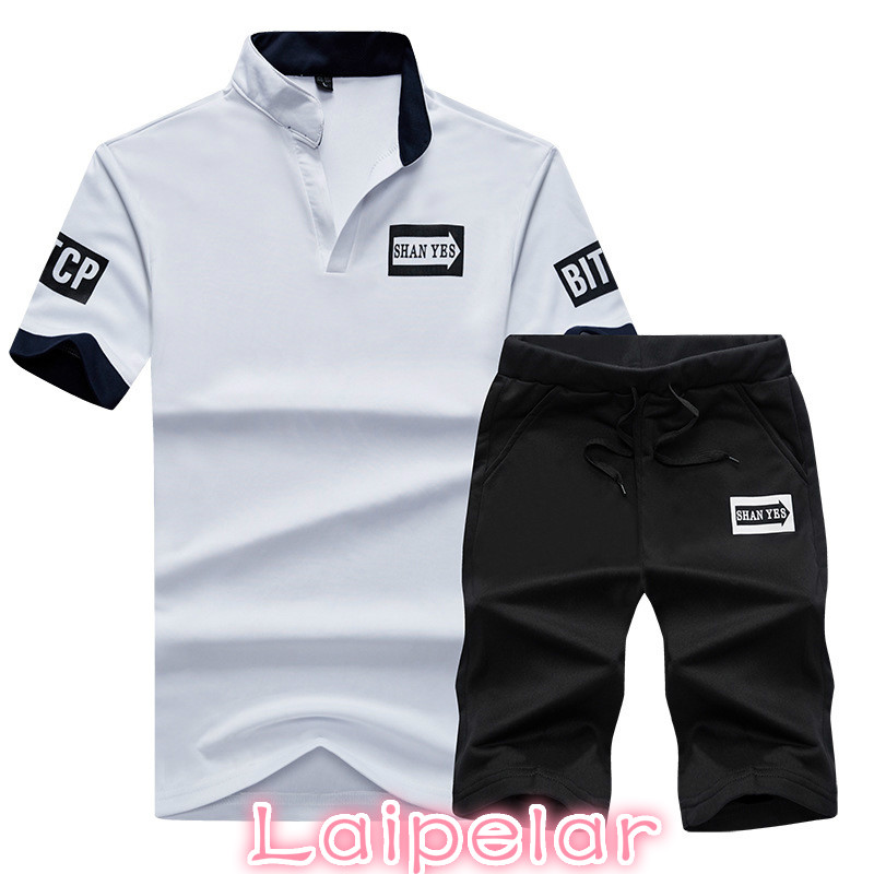 Summer Men Sportwear Sets Tracksuit Male Outwear Sweatshirts Patchwork Men Hoodies Stand Collar Male Tracksuit 4XL,TA056