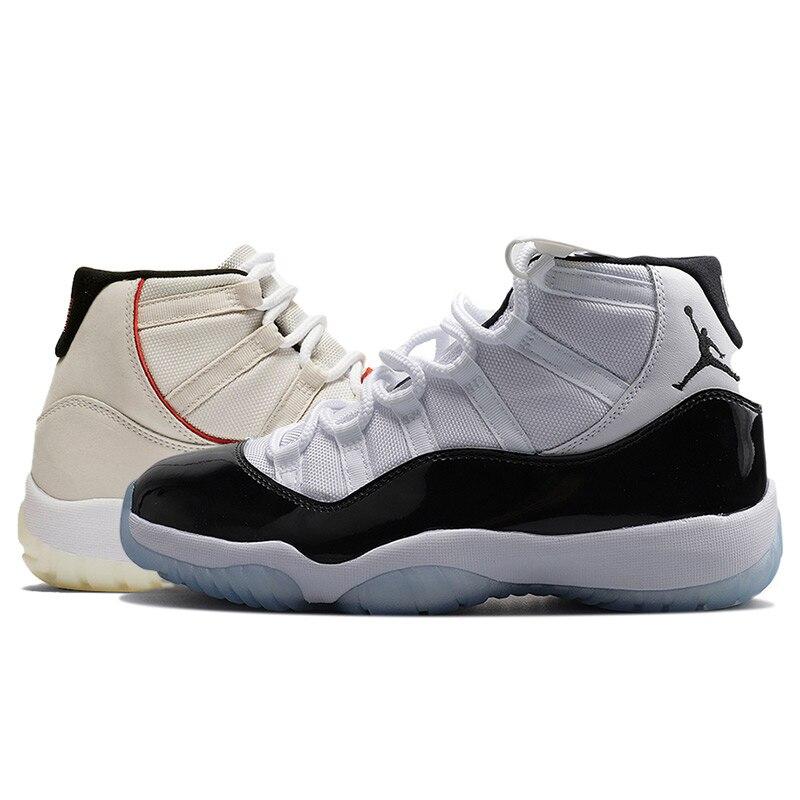 Gym Rouge Jordan retro 11 XI Hommes Chaussures de Basket-Ball gagner comme 82 96 Cap et Robe Race de haute de Sport Race sport en plein air Sneakers