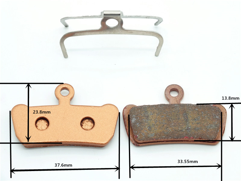 DELT металлик MTB велосипед дисковые Тормозные колодки трения колодки для заядлых XO E7 E9 TRAIL 4 Pistions велосипед части