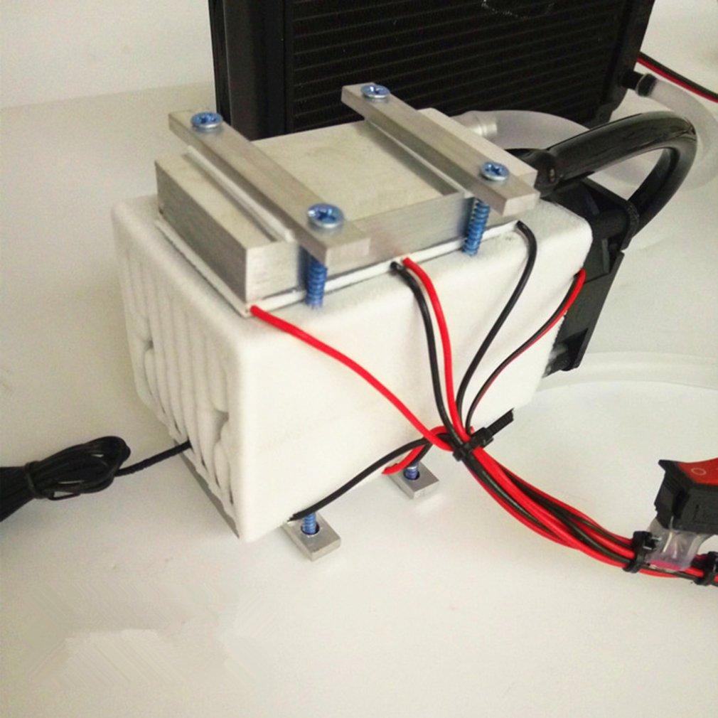 Fan Freezer Radiator Refrigeration Semiconductor Peltier Water-Cooling Small 108W Aluminum