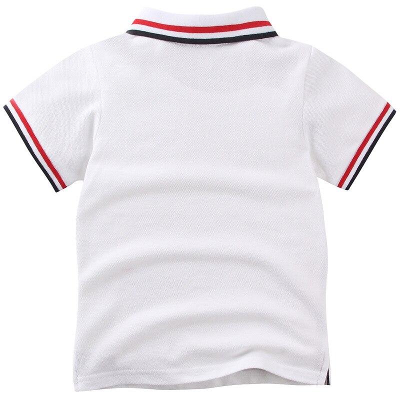 Jongens Poloshirts Kinderkleding 2018 Zomer Shirt met korte mouwen - Kinderkleding - Foto 2