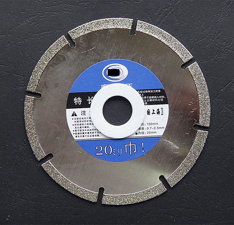 100*20mm Marble Cutting Wheel Abrasive Circular Saw Blades Diamond Cut-off Wheel Sawing Cutting Tool Glass Stone Jade Grinding