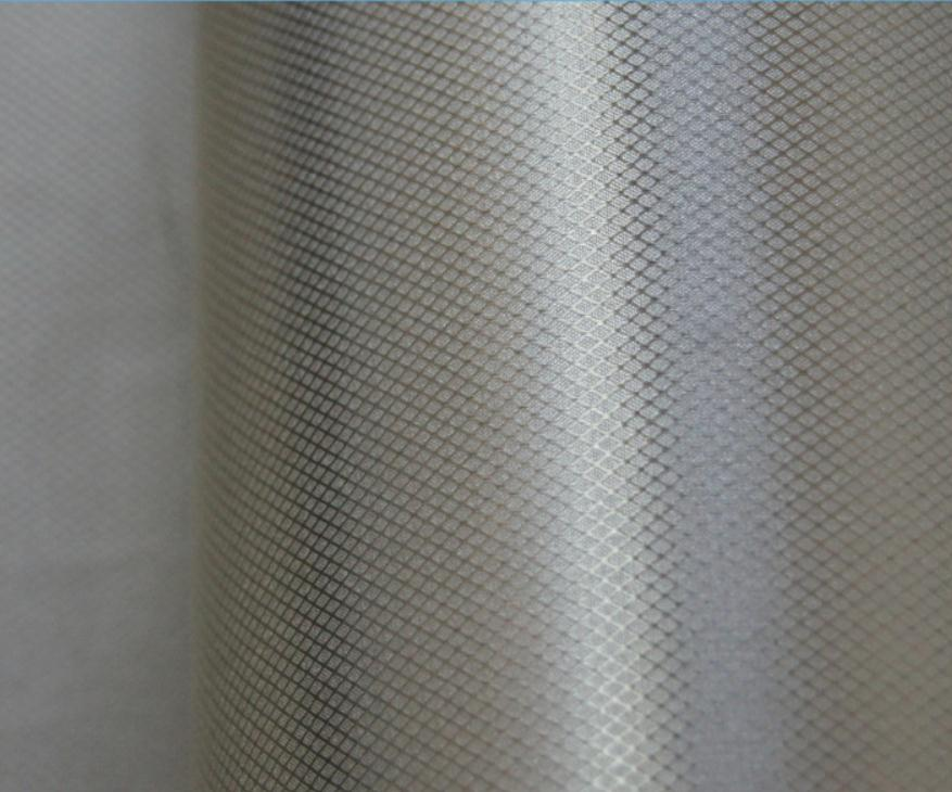 Copper-nickel Metal Coating Grid Conductive Material Cloth, Circuit Board,electromagnetic Radiation Protection Fabric.computer