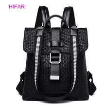 2019 Women's Backpack High Quality PU Leather Fashion Backpacks School Bags For Teenage Girls Anti Theft Backpack Bag For Women цены онлайн