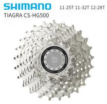 Shimano Tiagra CS-HG500-10 Cassette Sprocket 10-speed Road Bike 11-25T 11-32T 12-28T цена и фото