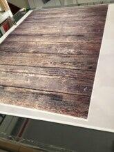 Яркие деревянные доски деревянного пола Фон фотографии Studio новорожденных Pet фото фон Студия фонов D-570