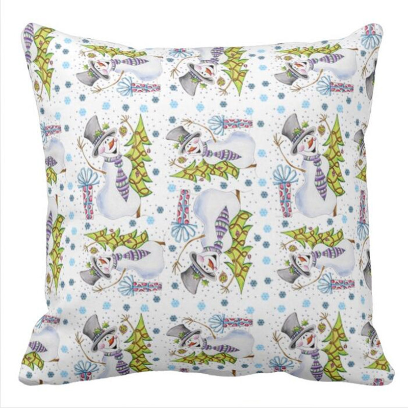 Westies Throw Pillow case in Pillow Case from Home Garden