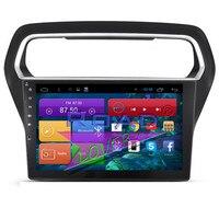 Roadlover Android 6,0 2 г + 16 ГБ 10,2 Car Media Center игрока для Ford Escort 2015 стерео gps навигация авто радио 2Din NO DVD