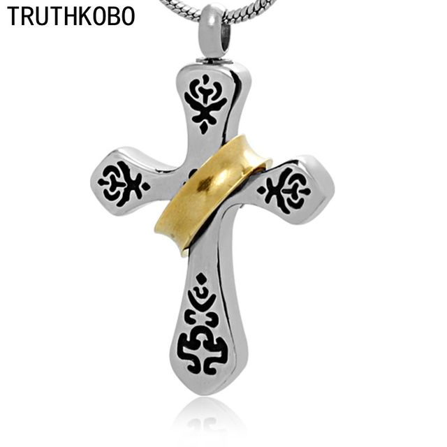 Religious cross jewelry for cremation jewelry for ashes making by religious cross jewelry for cremation jewelry for ashes making by 316l stainless steel material for christian aloadofball Images