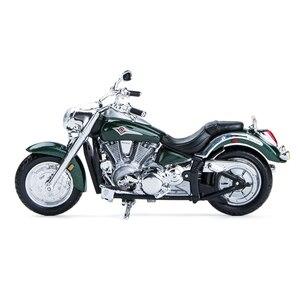 Image 2 - Maisto 1:18 오토바이 모델 가와사키 벌컨 2000 다이 캐스트 플라스틱 모토 미니어처 레이스 장난감 선물 컬렉션