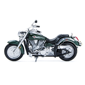 Image 2 - Maisto 1:18 Motorcycle Models Kawasaki Vulcan 2000 Diecast Plastic Moto Miniature Race Toy For Gift Collection